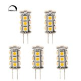 Dimmable T4 GY6.35 12V LED Bulb, 2.5 Watts, 20-25W Equivalent, 5-Pack
