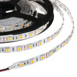 32.8FT 10M Single Color LED Strip Tape Light, 300 SMD 5050 LEDs, 24V DC, 72 Watts, IP33 Nonwaterproof (2x 5M/Reel)