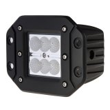 "3"" Square 18W Heavy Duty High Powered CREE XLamp LED Work Light - Flush Mount"
