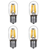 T22 E17 Intermediate Base 2W LED Vintage Antique Filament Light Bulb, 25W Equivalent, 4-Pack