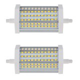 118mm R7s LED Bulb, 15 Watts, 130W Equivalent, 2-Pack