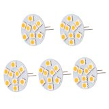 Extended Back-Pin T3 JC G4 LED Bulb, 1.8 Watts, 20W Equivalent, 5-Pack