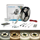Color Temp LED Strip Kits - LED Tape Light with 600 SMD 5050 LEDs, 24V DC, 144 Watts, IP33 Nonwaterproof