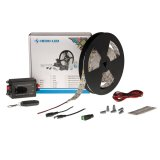 Single Color LED Strip Kits - LED Tape Light with 600 SMD 5050 LEDs, 24V DC, 144 Watts, IP33 Nonwaterproof