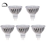 Dimmable MR16 GU5.3 LED Bulb, 4.8 Watts, 50W Equivalent, 5-Pack
