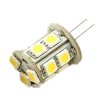 Back Pin Tower G4 AC10-18V or DC10-30V 13 x Tri-Chip 5050 SMD LED Bulb 360 Degree - 25W Equal