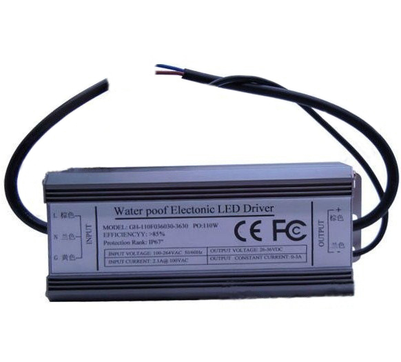 AC100-240V to 3A Constant Current Led Driver for HERO-LED 100W Led Emitter
