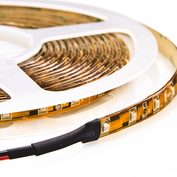 IP67 Dustproof 11mm Wide 5m Long 300 x Single-Chip LED Strip Tape Copper-PCB 12V DC 24 Watt