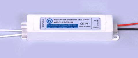 Constant Current Waterproof Led Driver 100-240v AC to 700mA 30-50v DC (36W)