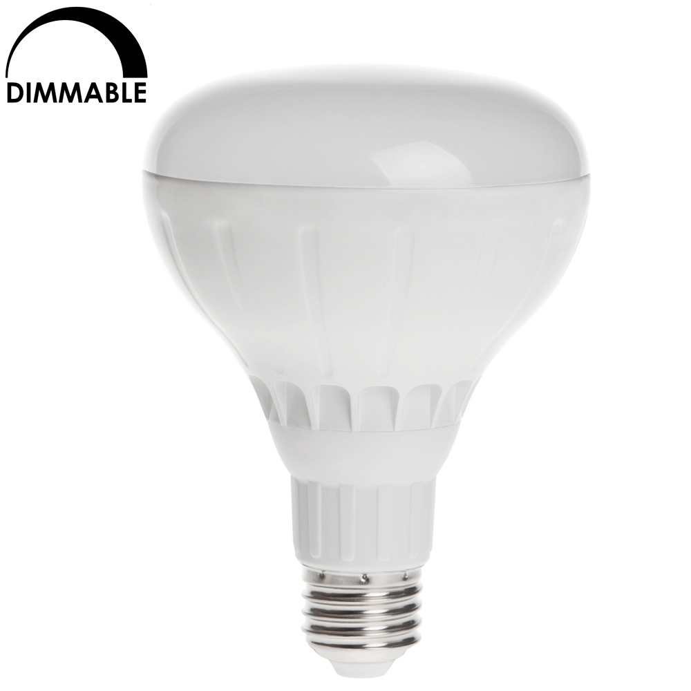 Fluorescent Light Dim: Dimmable BR30 E26 LED Incandescent Replacement Light Bulb