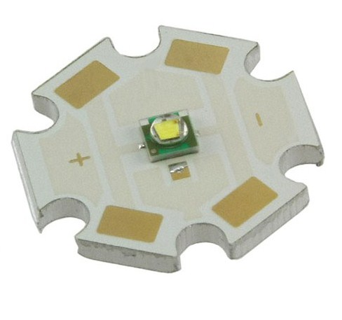 Cree XLamp XP-E Q5 Neutral White 4300-4500K Led with Star
