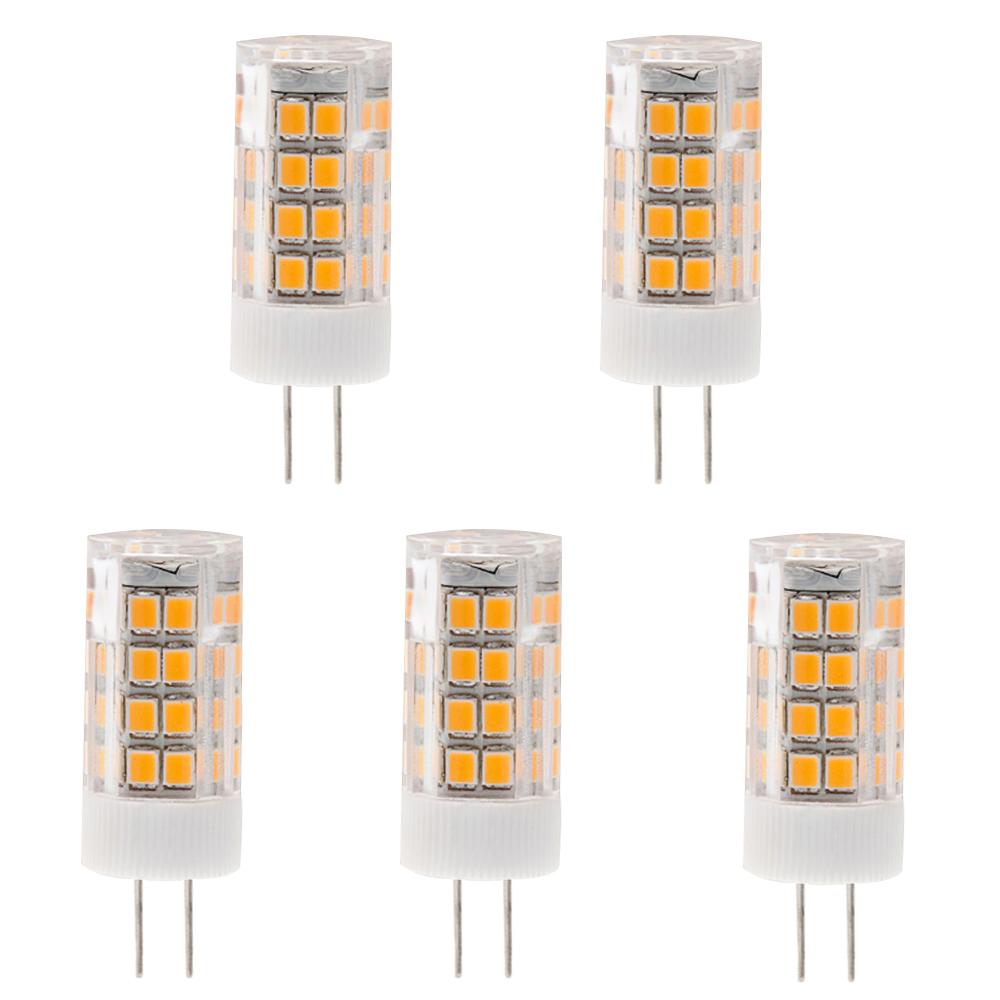 T4 Gy6 35 120v Led Bulb 3 5 Watts 35w Equivalent 5 Pack