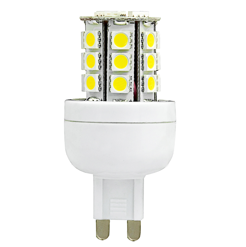 G9 12V AC/DC 24 x Tri-chip 5050 SMD LED Bulb 360 Degree - 45W Equal