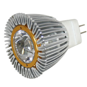 Landscape LED Replacement MR11 GU4 12V AC/DC 3W LED Bulb 60 Degree - 20W Equal