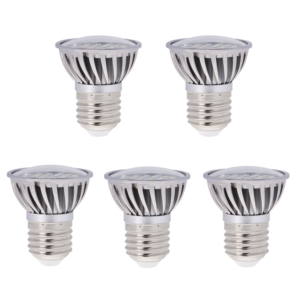 par16 r16 e26 e27 short neck led bulb 4 8 watts 50w equivalent 5 pack p16 24s sn. Black Bedroom Furniture Sets. Home Design Ideas