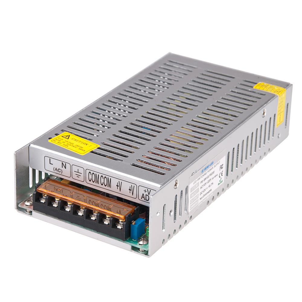 transformateur led 12v dc 167a  200w pssw12lps200  €