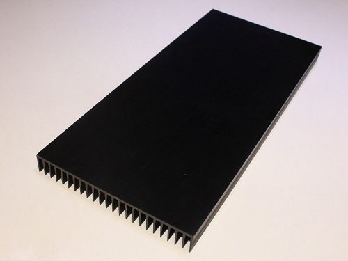 "HERO-LED Extruded Aluminum Heatsink 5.20"" Wide x 5.90"" Long"