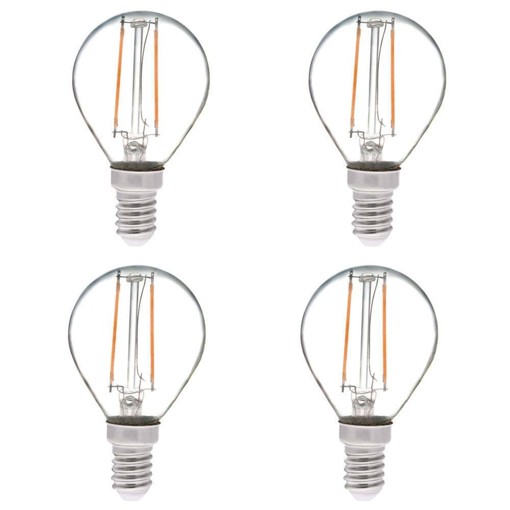 s11 e14 european base 2w led vintage antique filament light bulb 25w equivalent 4 pack s11 ds. Black Bedroom Furniture Sets. Home Design Ideas