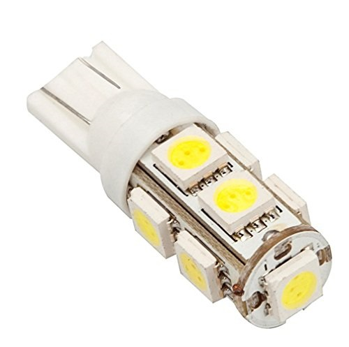 Automotive Led Light T10/194 Ultra Bright 9 x Tri-Chip SMD Led