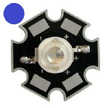 HERO-LED 1 Watt High Power Blue Led 12.5 Lumen