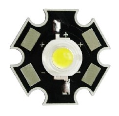 HERO-LED 1 Watt High Power Led Warm White 70 Lumen