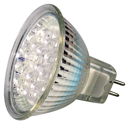 MR16 GU5.3 12V AC/DC 1.5W LED Bulb 15 Degree - 15W Equal