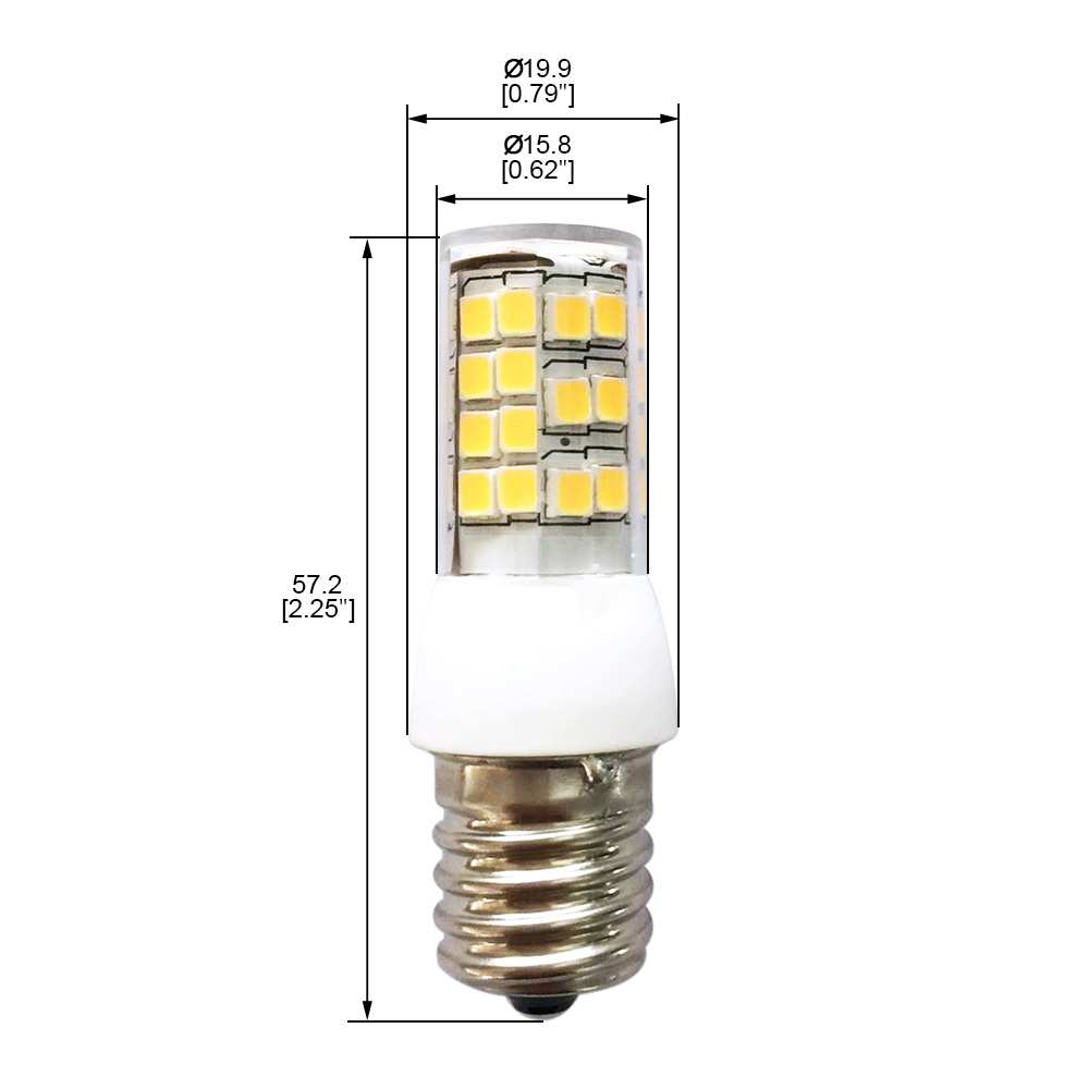 Dimmable Intermediate E17 Base Led Light Bulb 35 Watts 35w