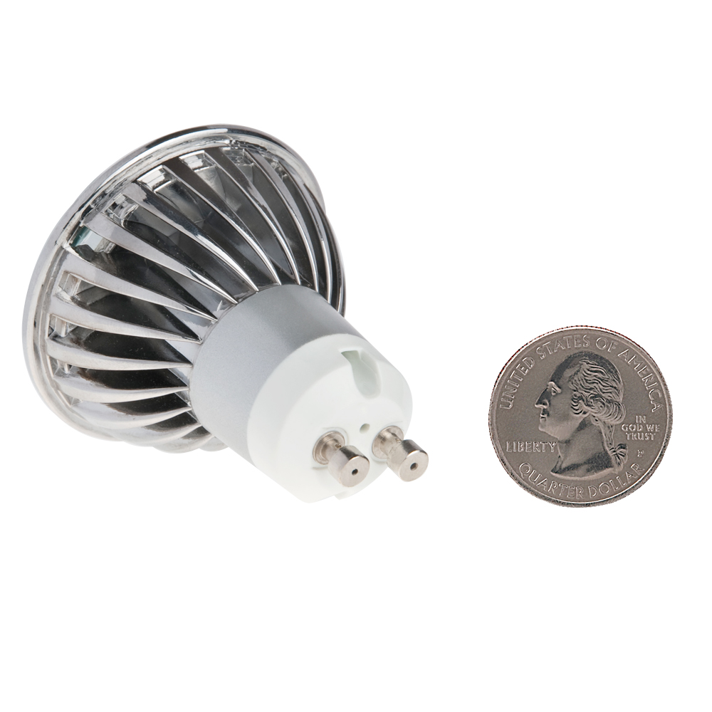 Mr16 Gu10 Led Bulbs Dimmable 7w 50w Equivalent 3000k: Dimmable MR16 GU10 LED Bulb, 4.8 Watts, 50W Equivalent, 5