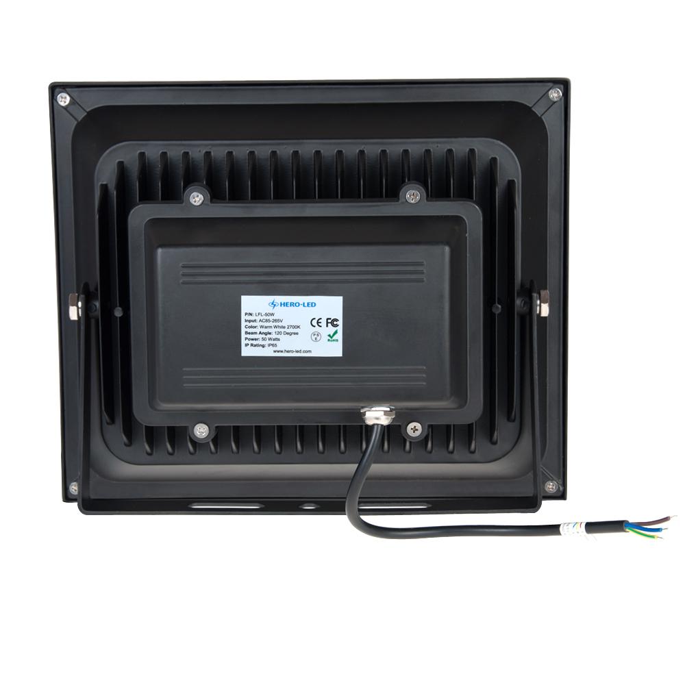 50W High Power LED Flood Light Fixture [LFL-50W] - $54.99 : HERO-LED.com