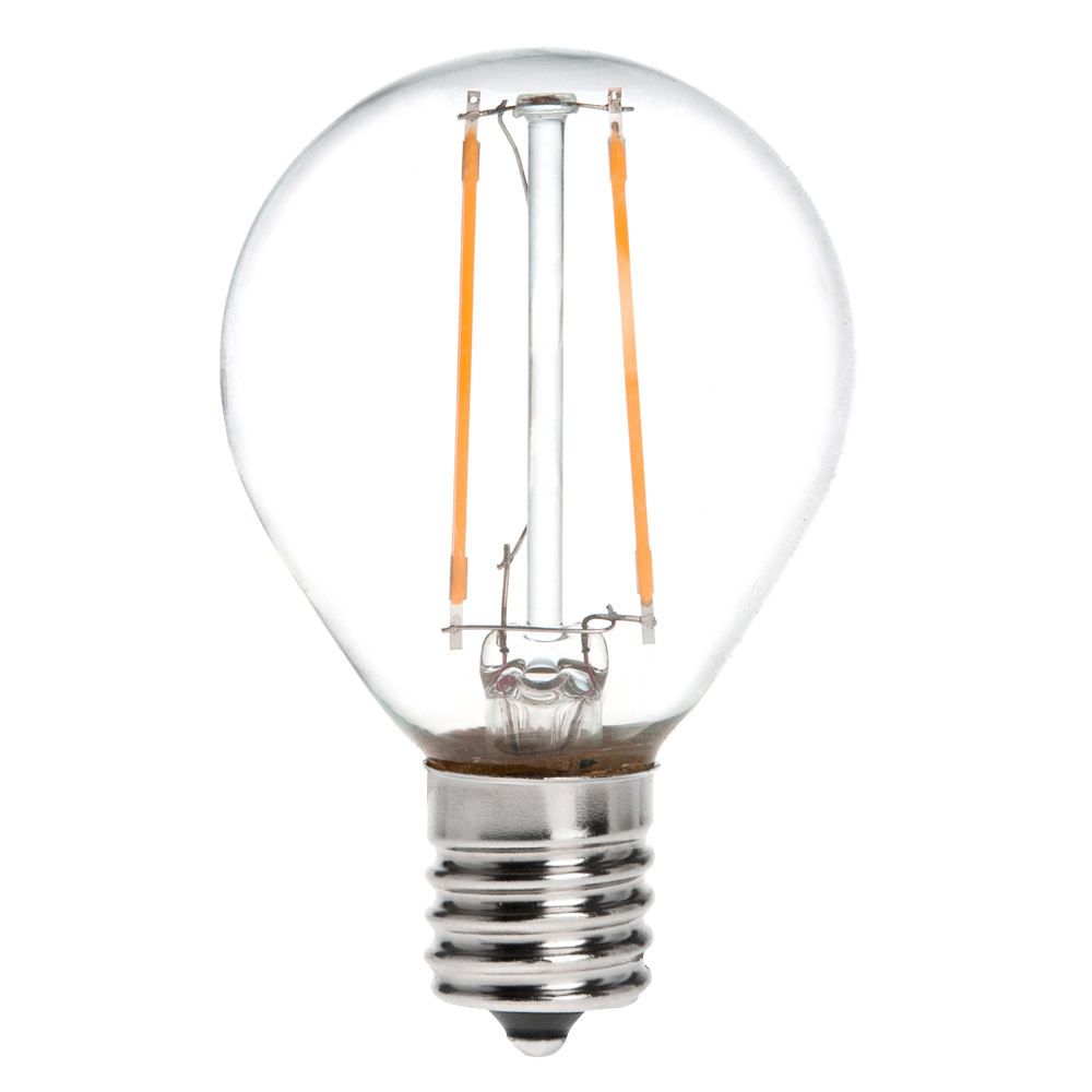 s11 e17 intermediate base 2w led vintage antique filament light bulb. Black Bedroom Furniture Sets. Home Design Ideas