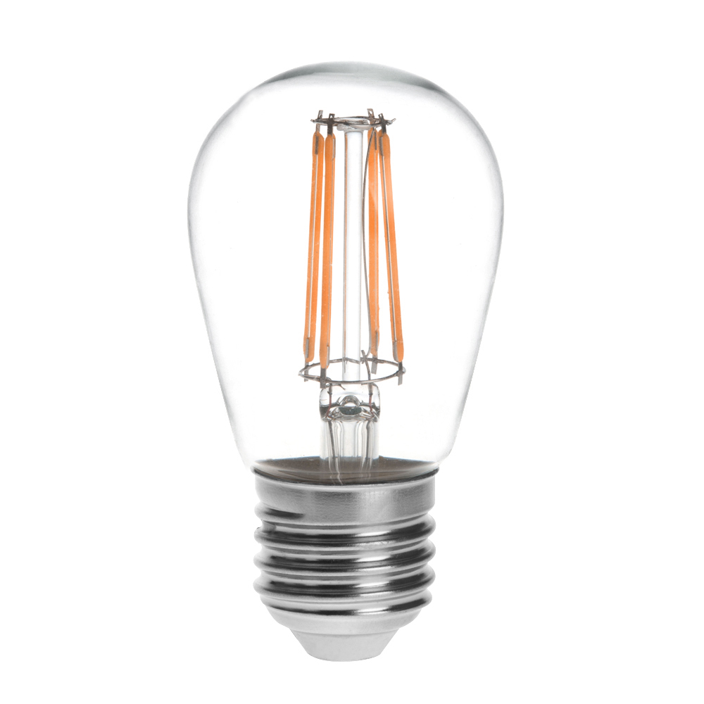 s14 e26 e27 base 4w led vintage antique filament light bulb 40w equivalent 4 pack s14 ds 4w. Black Bedroom Furniture Sets. Home Design Ideas