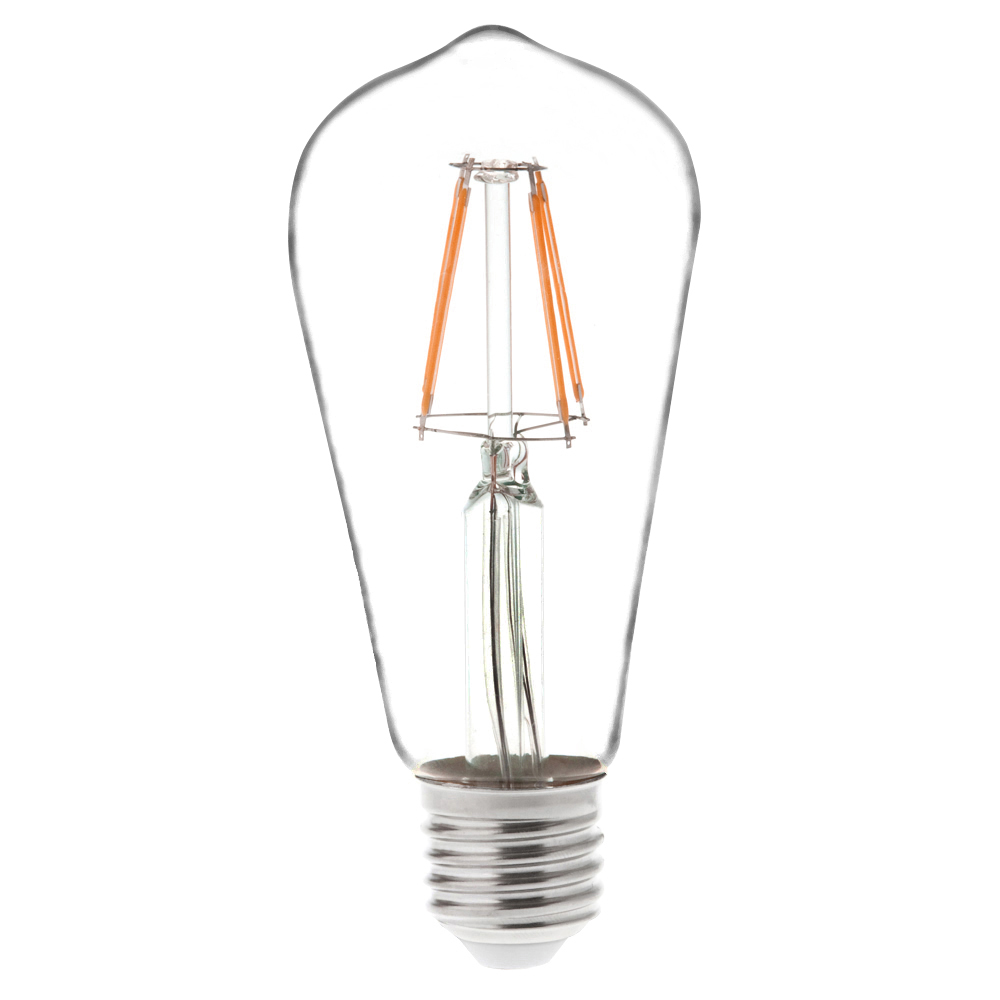 T10 E26 E27 4w Led Vintage Antique Filament Light Bulb: ST18 E26/E27 4W LED Vintage Antique Filament Light Bulb
