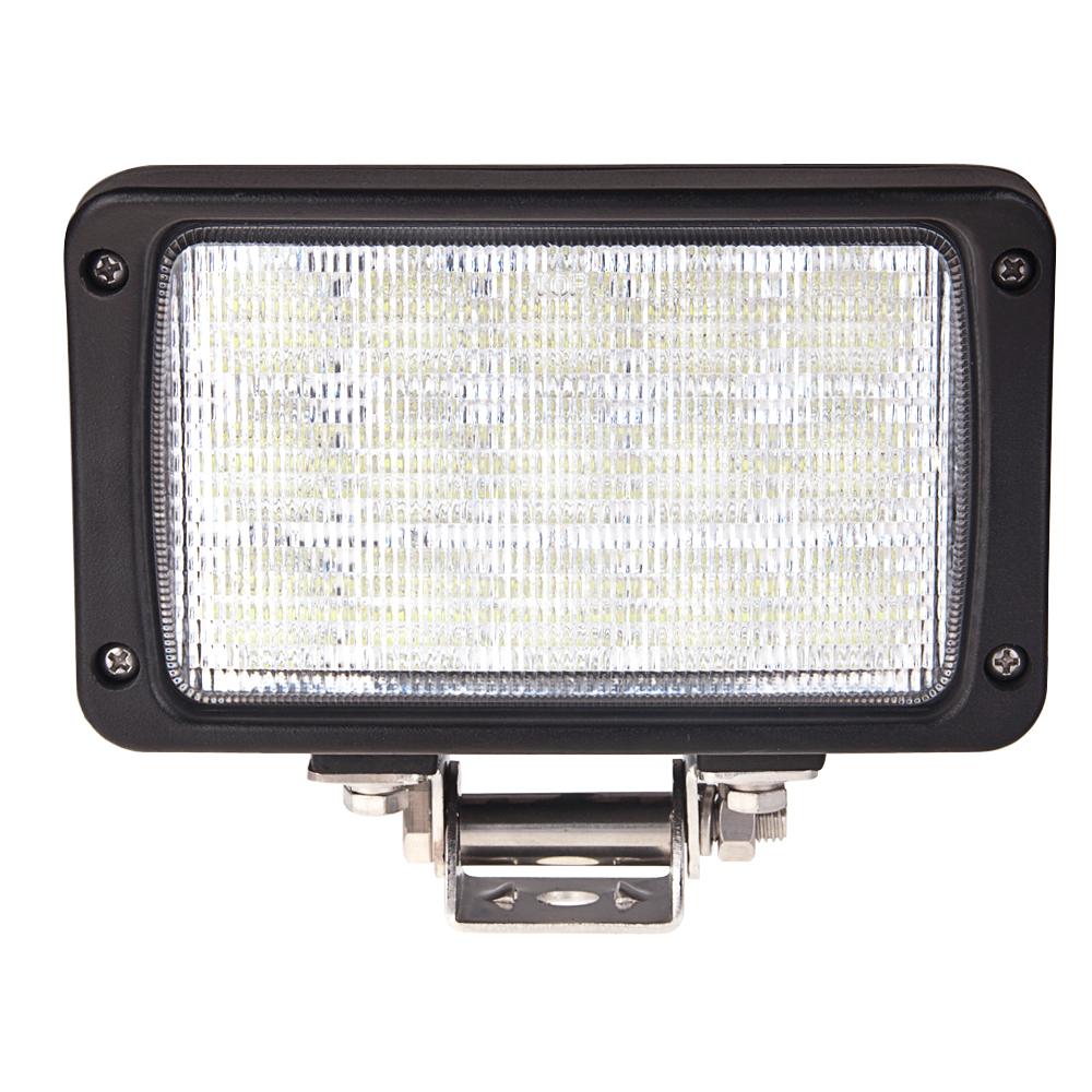6 Rectangular 45W Heavy Duty High Powered LED Work Light